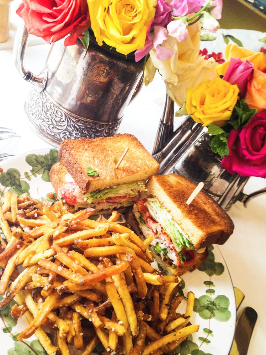 Ivy Restaurant La Menu