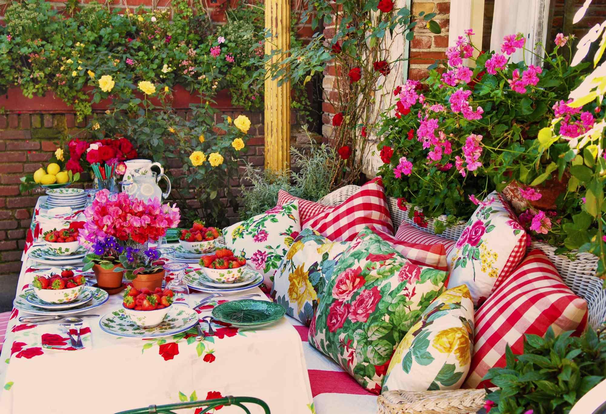 Garden Cafe Menu La